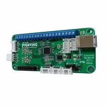 ברוק אוניברסלי לחימה לוח בתוספת 3in1 PCB ארקייד לחימה מקל ערכת עבור PS3/PS4/PC עם כותרות תמיכה משטח מגע/טורבו מפתח