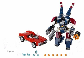 Sy875 Super Heroes Iron Man Detroit Steel Strikes Car Lola Block Set Agent Coulson Justin Hammer Compatible with Lepin Toy 21035 lego
