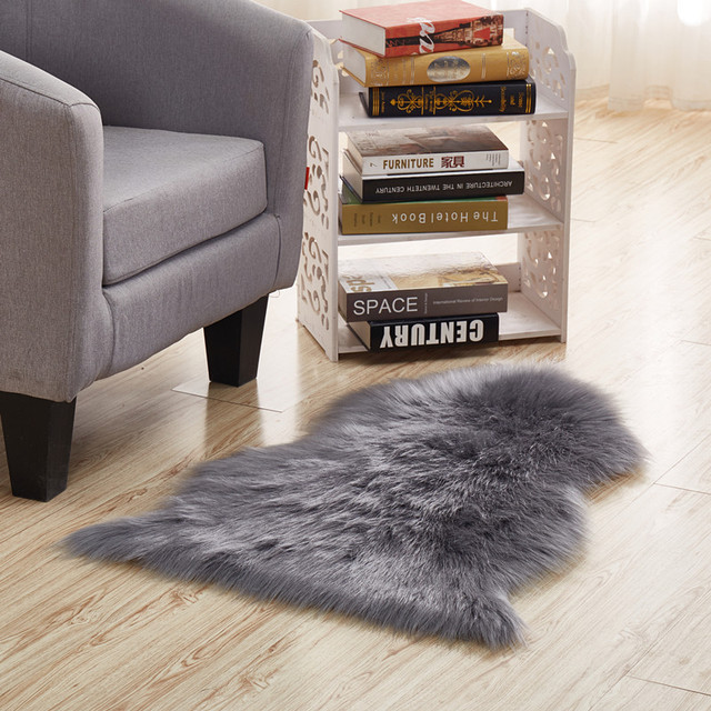 Multi Farbe Nachahmung Schaffell Wolle Teppiche Und Teppich Fur