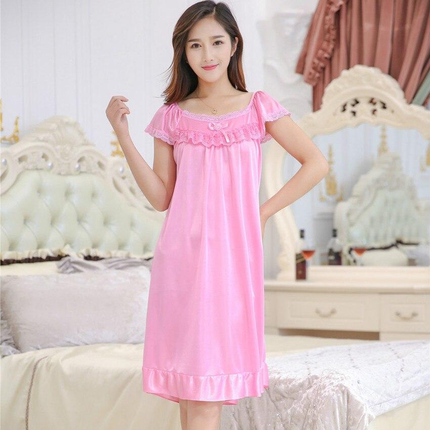c2e913fadf Dropwow Summer style Plus Size Rayon Bathrobe Womens Kimono Satin ...
