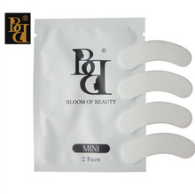 BB brand MINI lint free eye patch 50pair/lot Non Irritation Comfort Fit Mini Under Gel Eye Pad  Lint Free Adhesive Eye Patch