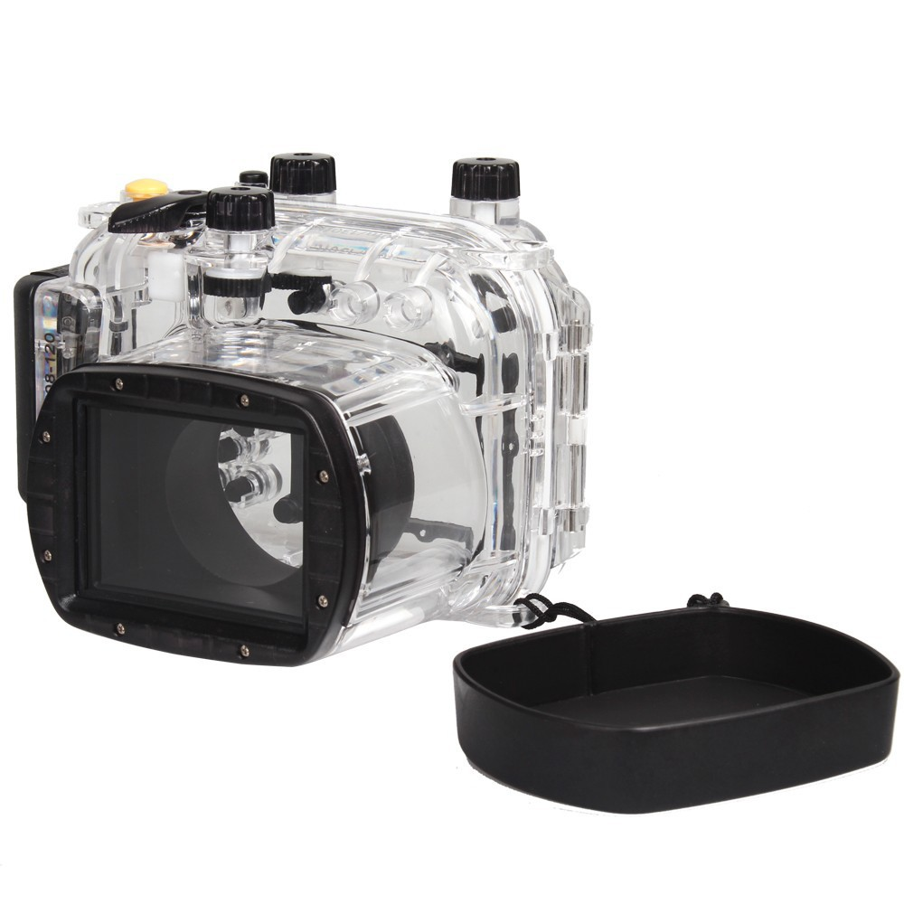 For Canon Power Shot G11 G12 as  WP-DC34 40M Underwater Waterproof Housing Case