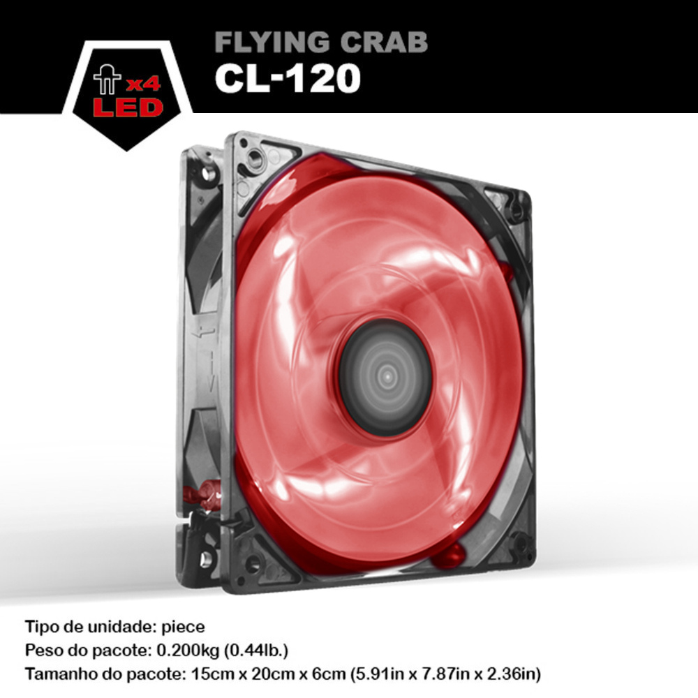 ALSEYE 120mm Cooler, LED Computer Fan DC 12v 3pin 96CFM 1800RPM PC Cooling fan for CPU Cooler / Water Cooling / Case цена и фото