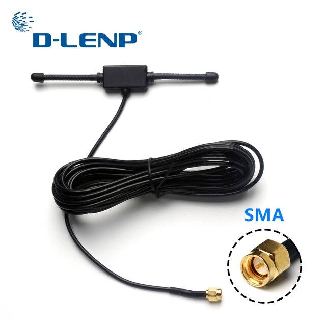 Dlenp 433 MHz Longue Portée Antenne 433 mhz patch antenne Ham Radio SMA Mâle 3 m Câble