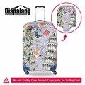 O projeto original da torre Eiffel de impressão viagem mala bagagem capa protetora elástica durável portátil bagagem tampa protetora contra poeira capa de chuva
