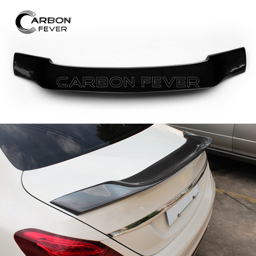 For Mercedes W213 Carbon Fiber Spoiler Wing Rear Trunk Decoration For E Class 4-Door Sedan E200 E220 E250 E300 2016-PresentFor Mercedes W213 Carbon Fiber Spoiler Wing Rear Trunk Decoration For E Class 4-Door Sedan E200 E220 E250 E300 2016-Present