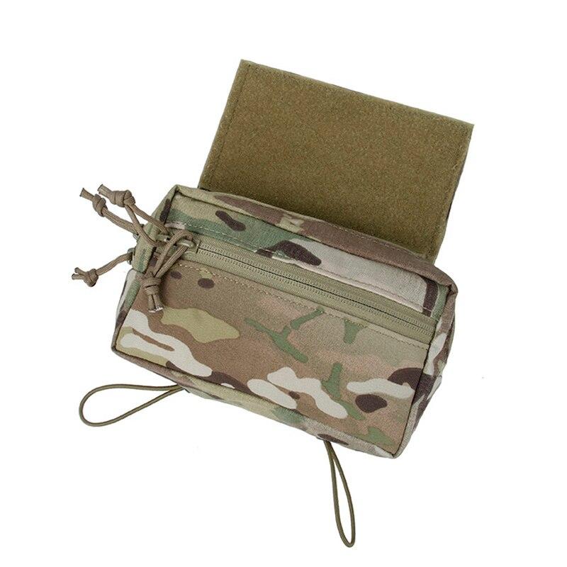 TMC tactique Drop poitrine poche suspendue panneau avant paquet adhésif Multicam pour MCR tactique gilet poitrine plate-forme livraison gratuite