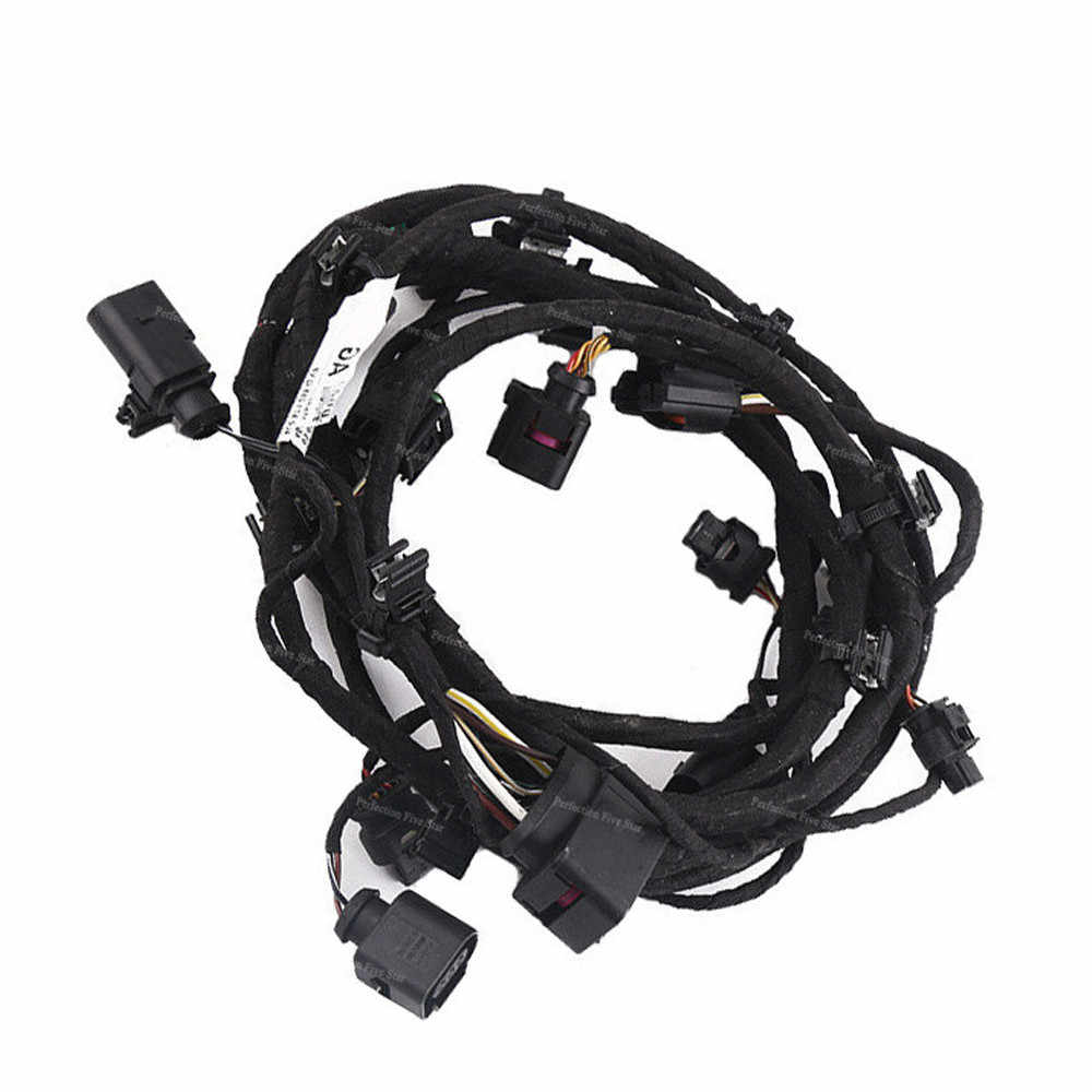 hight resolution of  4l0971095q for audi q7 2007 2008 2009 front bumper engine control module wiring harness