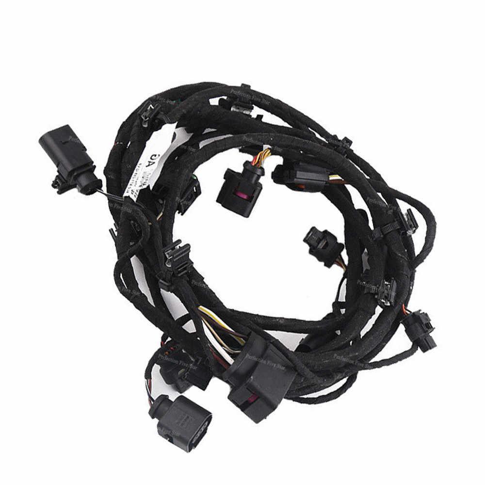 4l0971095q for audi q7 2007 2008 2009 front bumper engine control module wiring harness [ 1000 x 1000 Pixel ]