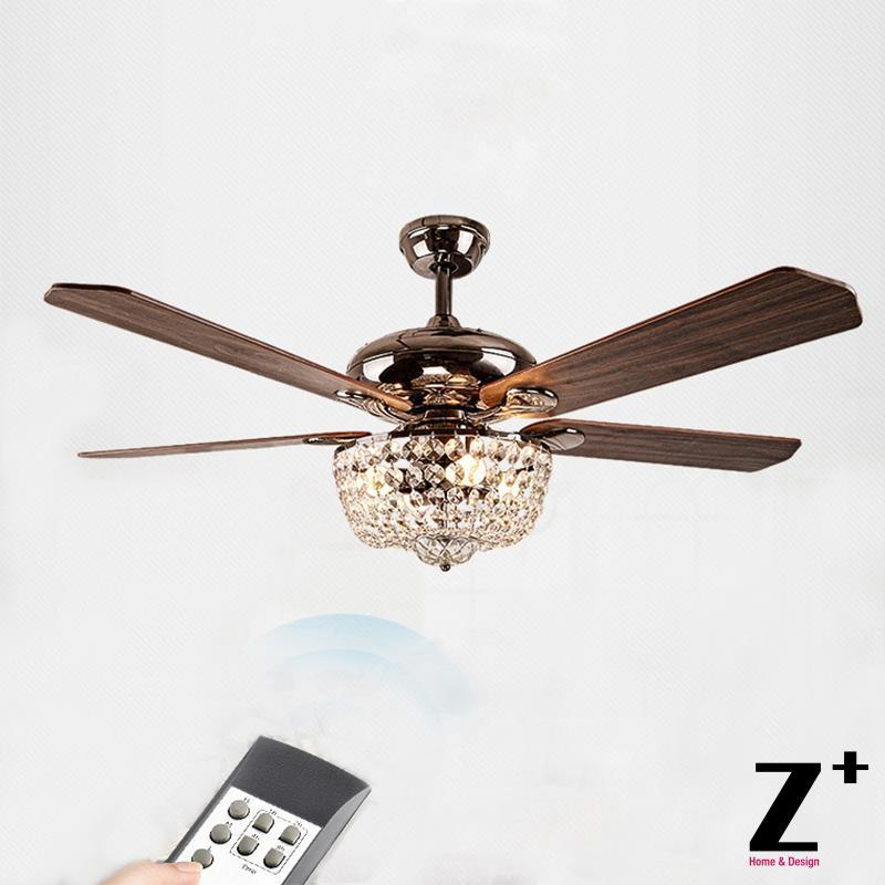 Popular Ceiling Fan Crystal Chandelier Buy Cheap Ceiling