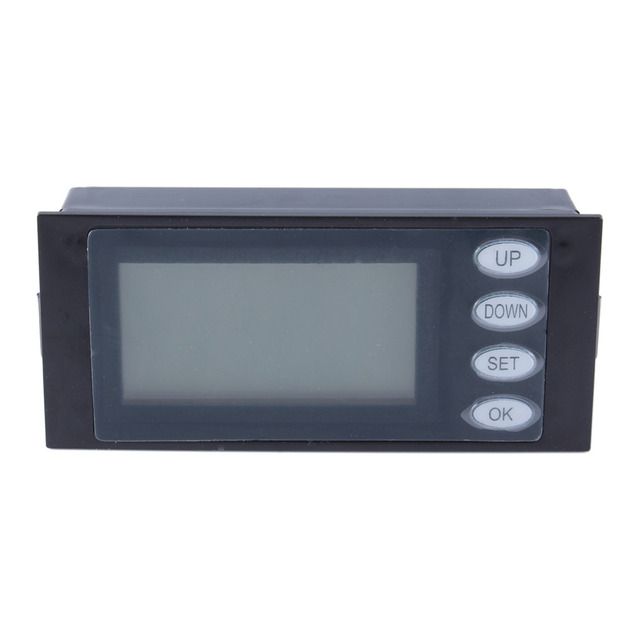Peacefair 20A AC Digital LED Power Meter Monitor Voltage KWh Watt Voltmeter Ammeter