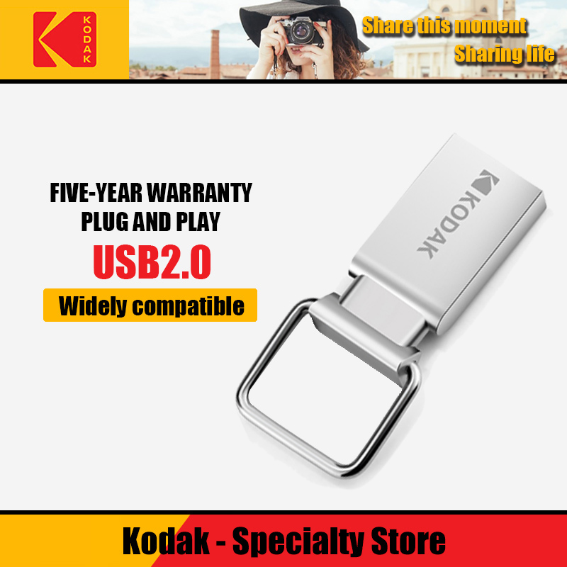 100% Original Kodak USB 3.1 K133 Usb Flash Drive 256gb 128gb 64gb 32gb16gb USB 2.0 K112 Mini Pen Drives Stick Metal Memory Stick