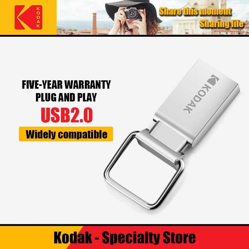 100% Original Kodak USB 3.1 K133 Usb Flash Drive 256gb 128gb 64gb 32gb16gb USB 2.0 K112 Mini Pen Drives Stick Metal Memory Stick