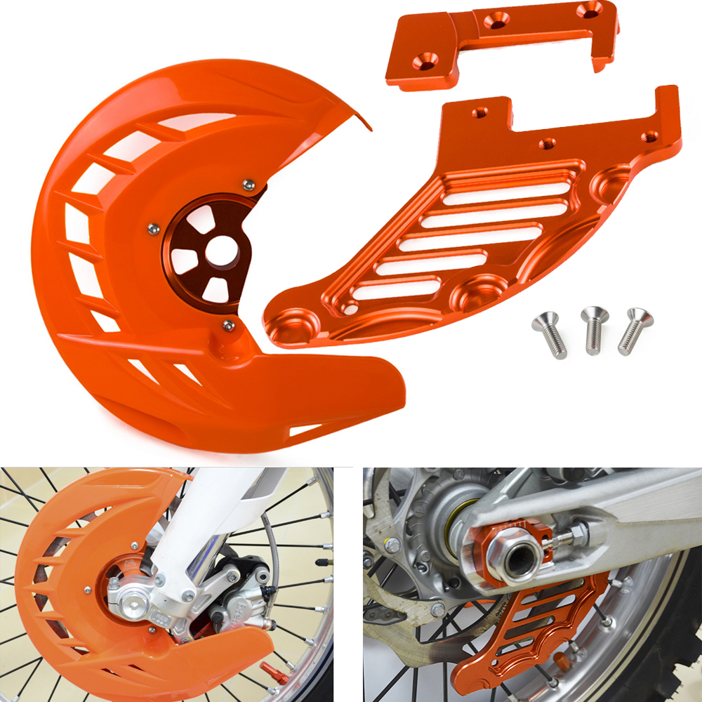 Front Rear Brake Disc Guard Cover For KTM SX SXF XC XCF XCW XCFW EXC EXCF