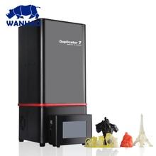 Новинка 2017 года версия wanhao D7 V1.5 3D-принтеры Дубликатор 7 (D7) v1.5 3D-принтеры + D7 коробка/Управление коробка + 250 мл смолы