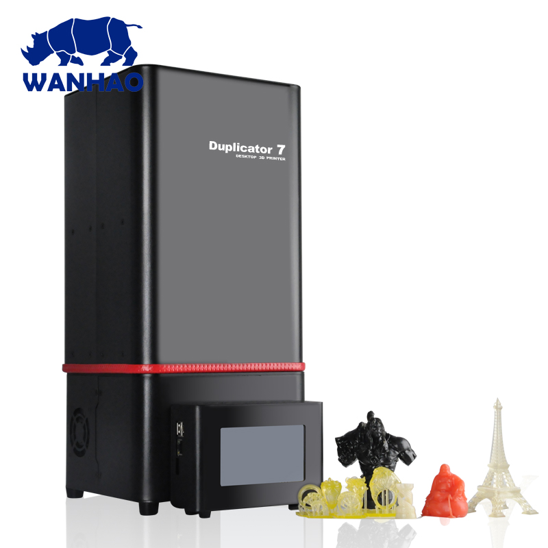 2018 New Version Wanhao D7 V1.5 3D Printer Duplicator 7 (D7) V1.5 DLP/SLA Priner 3D Machine + D7 BOX / Control BOX+ 250ml Resin 2017 fashion autumn genuine leather red women boots winter black flat martin solid ladies shoes woman boots zapatos mujer 1406n