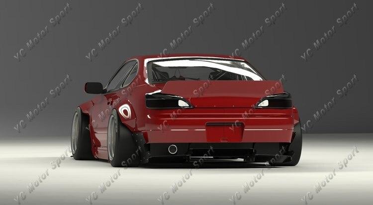 1999-2002 Nissan S15 Silvia Rocket Bunny Style Body Kit FRP (26)