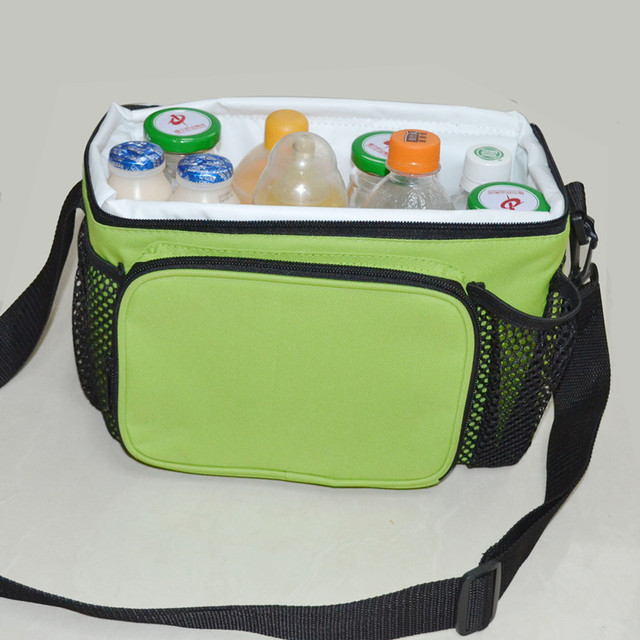 Portable Hand Carry Picnic Cooler Bag Keep Food Fresh Thermos Large Thermal