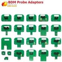 KESSV2 ECU RAMP Adapters 22pcs LED BDM Frame KTAG KESS KTM Dimsport BDM Probe Adapters Full Set ECU programming tool