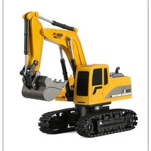 EBOYU 258-1 2.4Ghz 6CH 1:24 RC Excavator Mini Truck Rechargeable Simulated Gift Toy for Kids