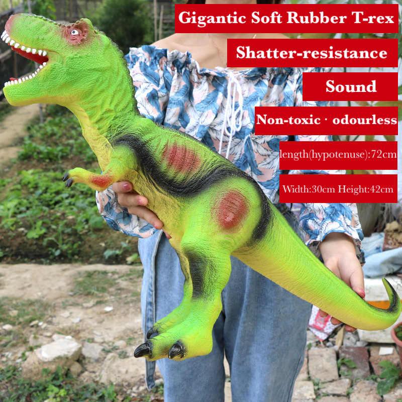 Som Dragão Jurassic Park Grande Modelo de Dinossauro Brinquedos para Criança Brinquedo para Meninos Animais Jogo de Ação Figura Um Pedaço Para Casa decoração