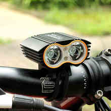 DEROACE Bicycle Light USB Power Bank Waterproof Rechargeable Bike  Side Warning Flashlight 900 Lumen double light Charge Battery