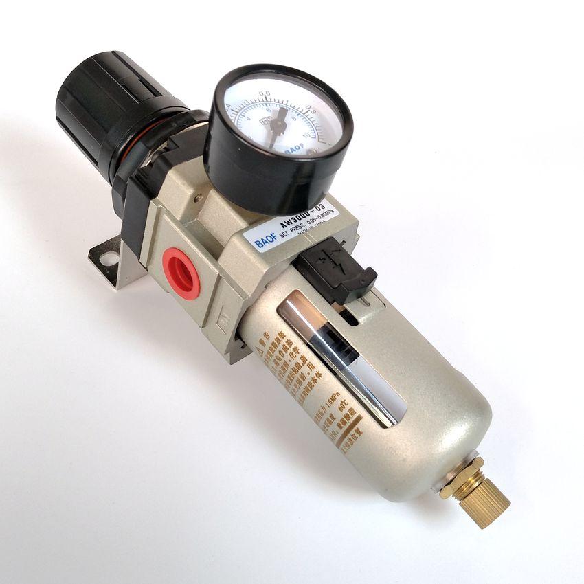 Pneumatic Air Filter Regulator AW3000-03 3/8'' SMC type Air Treatment Unit Manual Drain Type