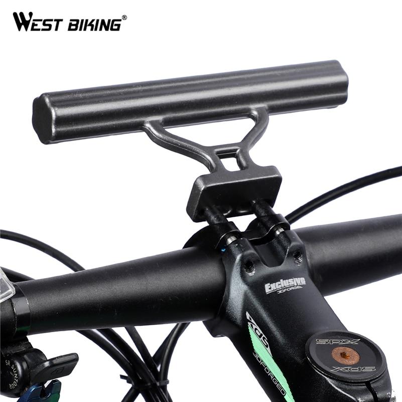 Bicycle MTB Flashlight Torch GPS Holder Handle Bar Bike Extender Mount Bracket