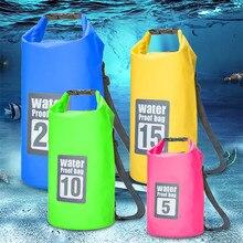 5L 10L 15L 20L Im Freien Wasserdichte Trocken Tasche Rucksack Sack Lagerung Trekking Rafting Sport Kajak Kanu Schwimmen Tasche Reise Kits