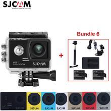 "Original SJCAM SJ5000X Elite 4K WiFi 2"" Screen 30 Waterproof Sports Action Camera+2 battery+Charger+Monopod+Car Charger+Holder"
