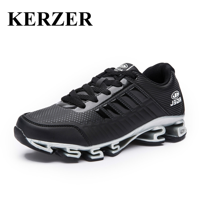 KERZER Men's Sport Running Shoes Cool Athletic Training Sneakers For Men Spring/Autumn Walking Jogging Shoes Mens Trainers men yeezy running shoes sport big size black gray mesh jogging shoes for men summer autumn sneakers mens athletic trainers male