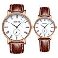 Amante pareja de moda relojes par reloj mujer Montre Homme montre hombres Reloj de pulsera de Cuarzo con la caja original