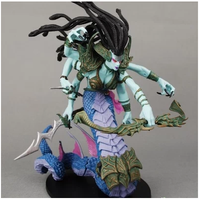 Wow Action Figure DC Unlimited Series 4 9 inch Deluxe Medusa Lady Vashj WOW PVC Model Toy Free shipping