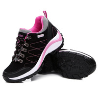 Women Outdoor Climbing Shoe Breathable Hiking Shoes Antiskid Travel Wearable Sport Shoes Lightweight Jogging Shoe Female