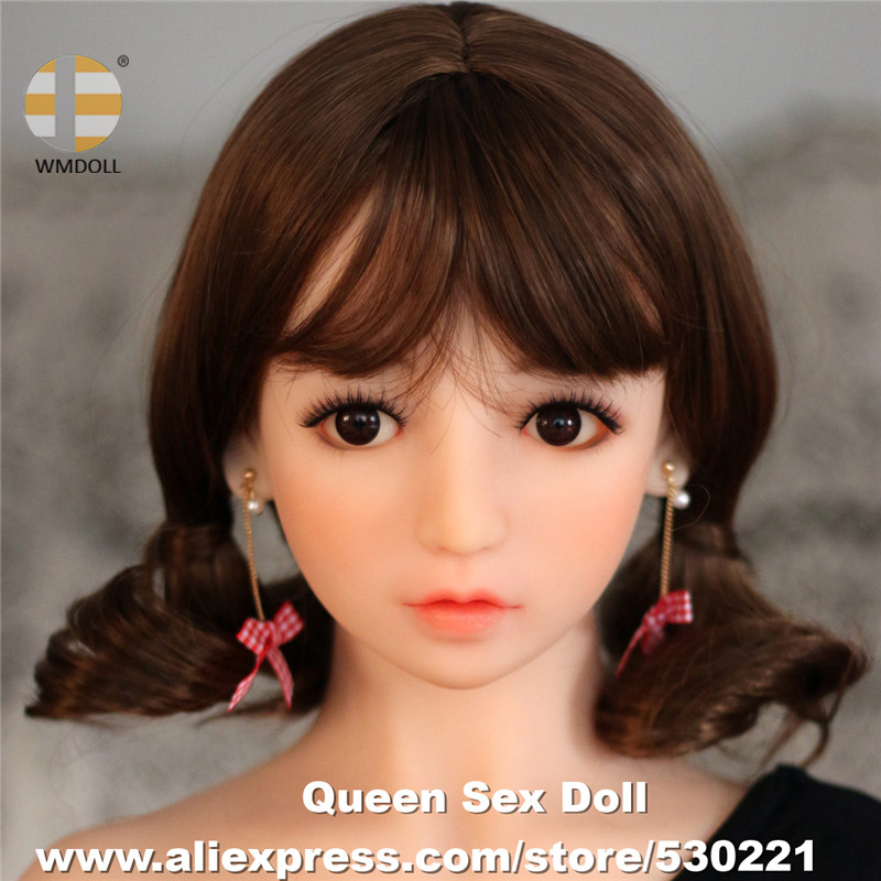 NEW WMDOLL Top Quality Sex Doll Head For Silicone Adult Doll Japanese Real Love Doll Heads Oral Sexual Toys top quality oral sex doll head for japanese realistic dolls realdoll heads adult sex toys