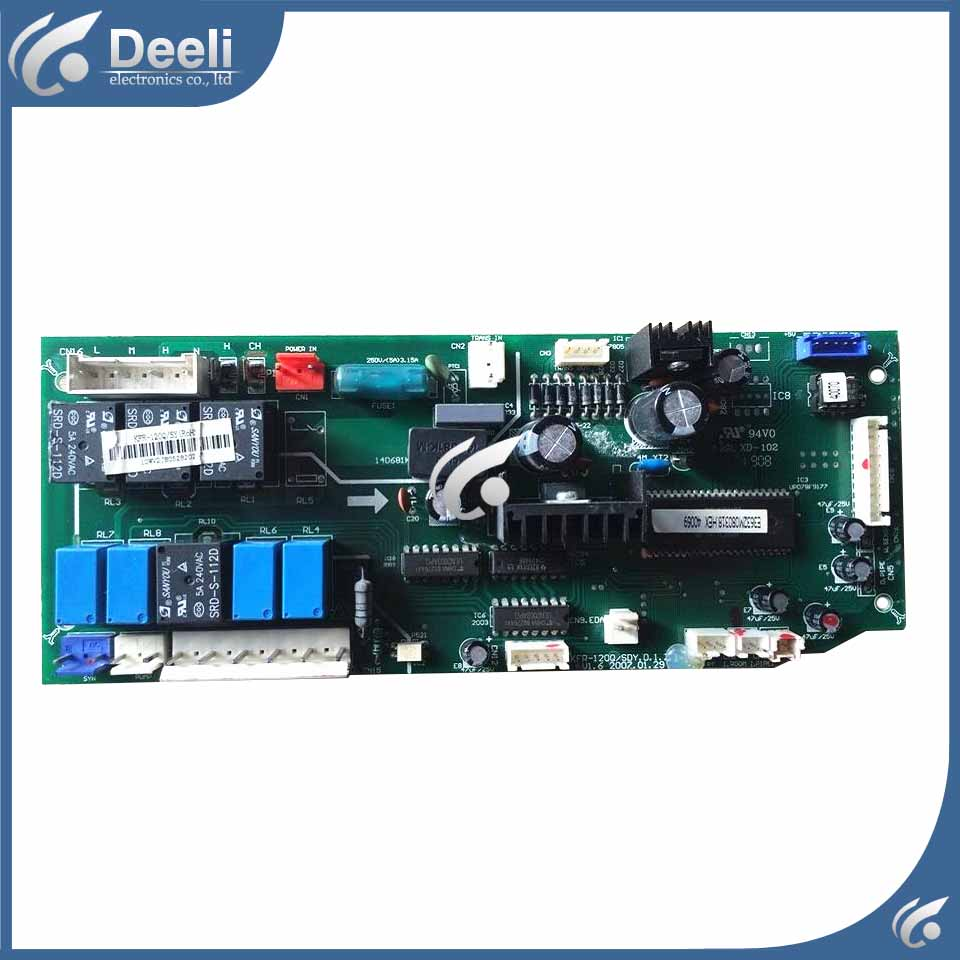 95% new for air conditioning Computer board KFR-75Q/SY KFR-75Q/SDY-C control board used computer board kfr 32gw kfr 35gw dashboard used disassemble