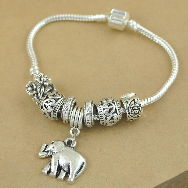 fashion quality set round chain gold ethnic bangles high products bracelets charm crystal classy ella bracelet elephant plated