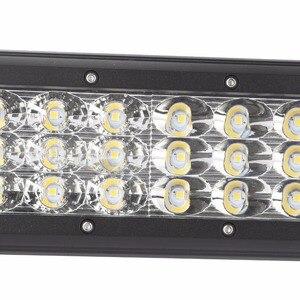 Image 3 - Xuanba 4 インチ 27 ワット 3 列バーオフロードを主導光のための 4 × 4 オフロード 4WD トラック atv uaz ボートスポットコンボ 12 v 24 v 作業バラ led headligt