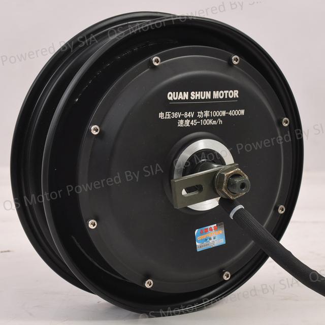 10 pulgadas 48 v 800 w brushless gearless motor eléctrico