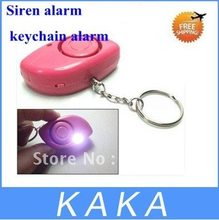 10pcs/Lot Personal Safety Alarm ,Anti-robbed Alarm ,Mini Anti-Lost Alarm ,Key Chain Security Spotlight Brand New(China)