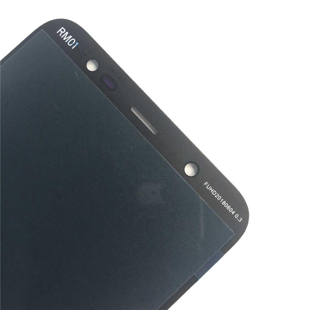 Nuevo LCD para Samsung Galaxy J8 2018 J810 SM-J810 J810M LCD pantalla táctil digitalizador montaje Ajustar brillo