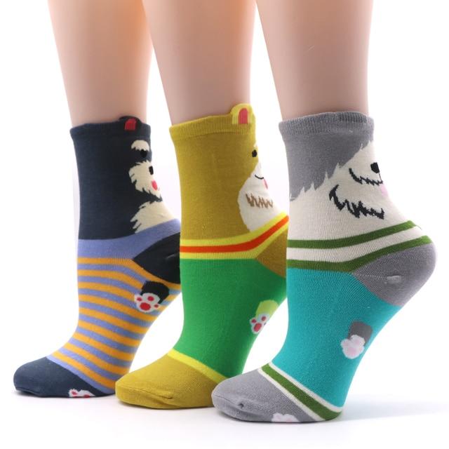 1 Pair Cotton Women Sock 1