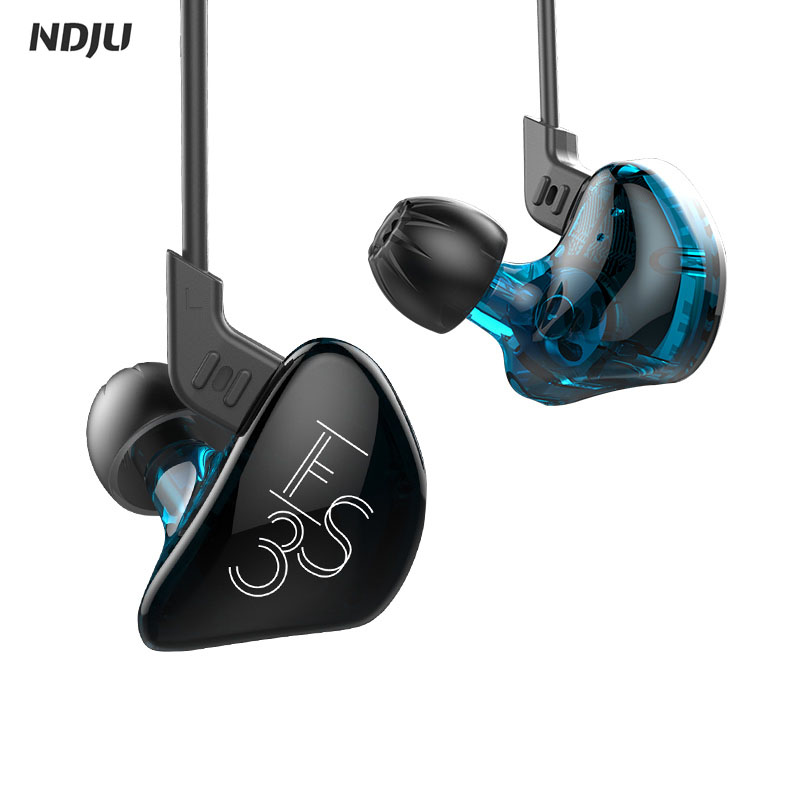 ES3 Wired Earphone +Blutooth Wireless HIFI Stereo Sport Running Headset Hybrid Dynamic And Balanced Armature Earphone In Ear kz zs5 double hybrid daynamic and balanced armature sport earphone four driver in ear headset noise isolating hifi music earbuds