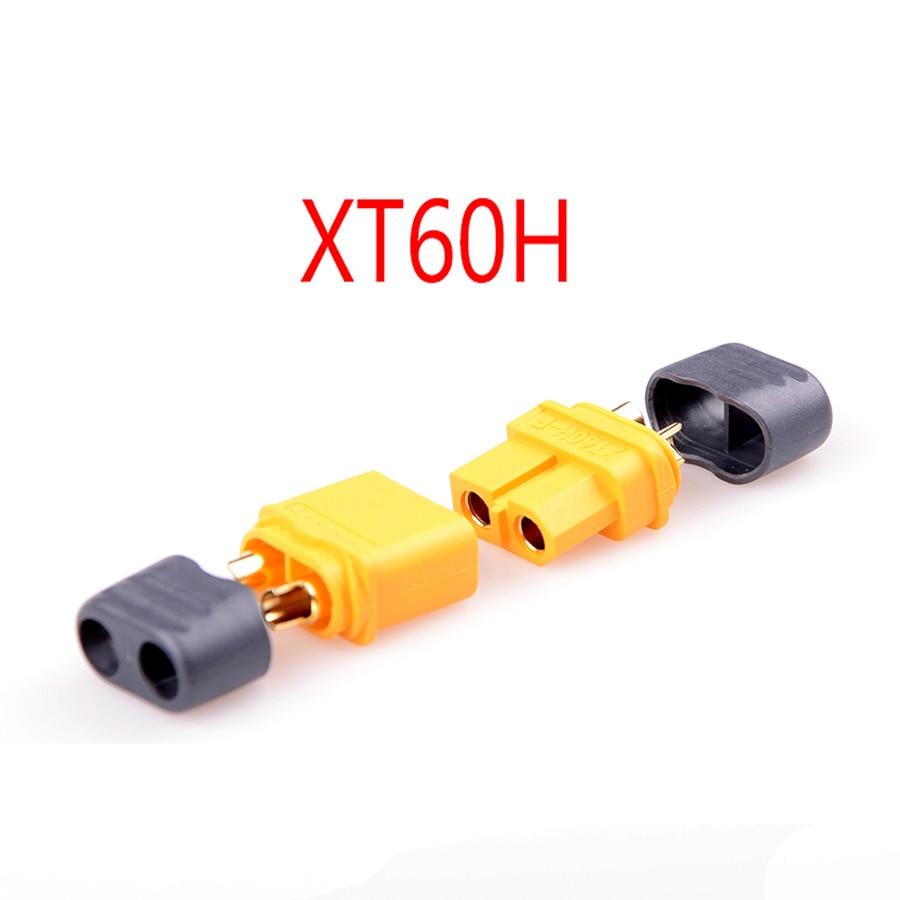 10 пар Amass XT30 XT60 XT90 XT-30 XT-60H мужской женский пули Разъемы набор пробок Запчасти для RC Lipo батареи FPV Дрон - Цвет: XT60H 10 Pairs