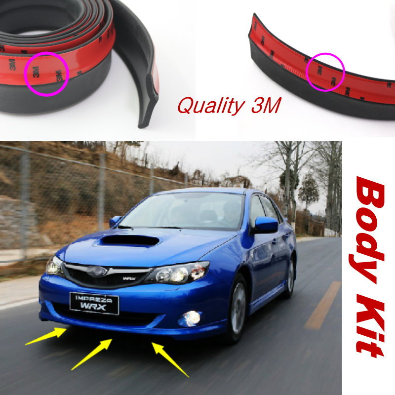 For Subaru Legacy Liberty B4 Car Bumper Lip lower Body Kit Front Rear Skirt Spoiler Bumper