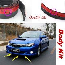 Для Subaru Legacy/Liberty/B4/Бампер Автомобиля Губ/нижний боди-Кит/Передняя/Задняя Юбка Спойлер/Бампер Отражатель Резиновые Полоски
