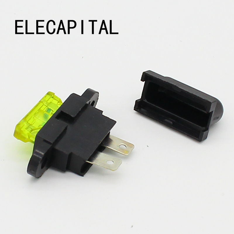 5pcs plug-in auto Fuse Holder + 5pcs auto fuse new total english starter workbook with key cd
