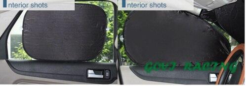 6 հատ / սահմանել մեքենայի պատուհանի - Ավտոմեքենայի արտաքին պարագաներ - Լուսանկար 3