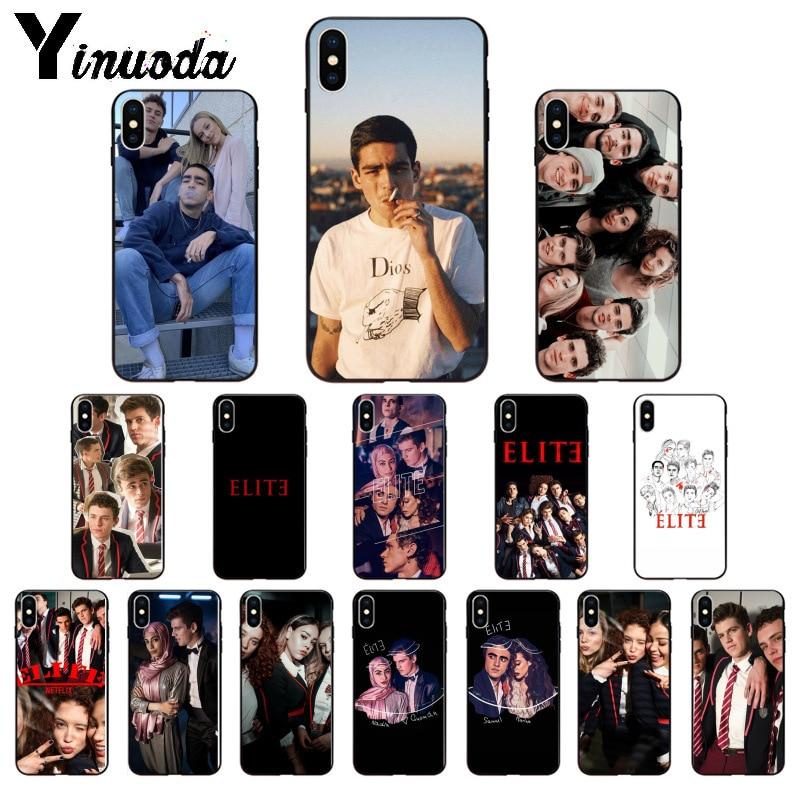 Yinuoda Spanish TV series Elite TPU Soft Phone Accessories Phone Case for iPhone 5 5Sx 6 7 7plus 8 8Plus X XS MAX XR
