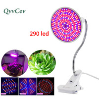 With 360 Degrees Flexible Lamp Holder Clip 60 126 200 Leds Grow Light Plant Flower Growth